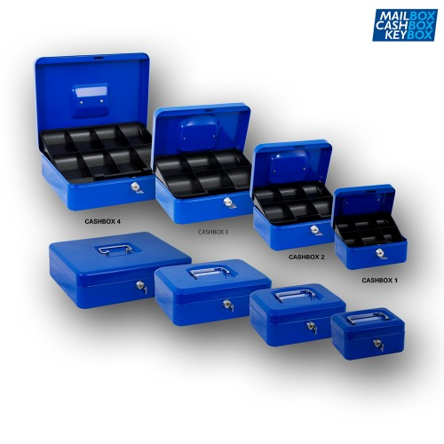 Cashbox 2 Blauw
